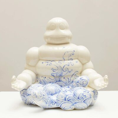 Li Lihong, 'Michelin China White - Blue wave ', 2019