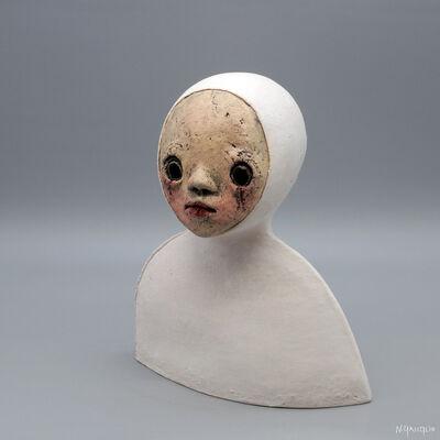 Nathalie Gauglin, 'N° 456 Petite cagoule et fourrure blanche', 2021