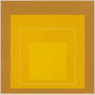 Josef Albers, 'White Line Square X', 1966