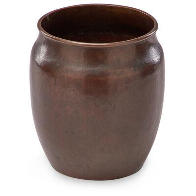 Dirk Van Erp, 'Vase with rolled rim'