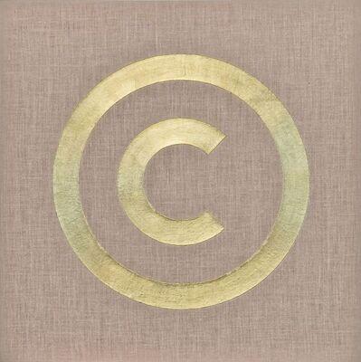 General Idea, 'Copyright (Blue) #1', 1987-1988