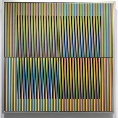 Carlos Cruz-Diez, 'Couleur additive série 14', 2009