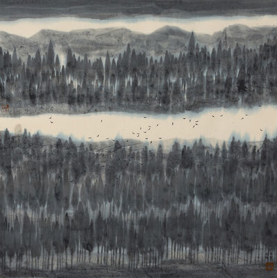 Zi Yao 子尧 Shen 沈, 'Wisdom of the Ancient Forest #1', 2018