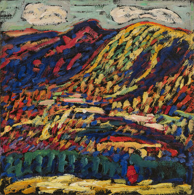 Marsden Hartley, 'Birch Grove, Autumn', 1910