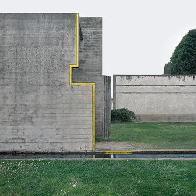 Klaus Kinold, 'Carlo Scarpa. La Tomba Brion, San Vito d'Altivole', 1985