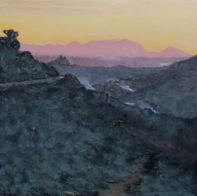 Albert Hadjiganev, 'Soir dans les collines',