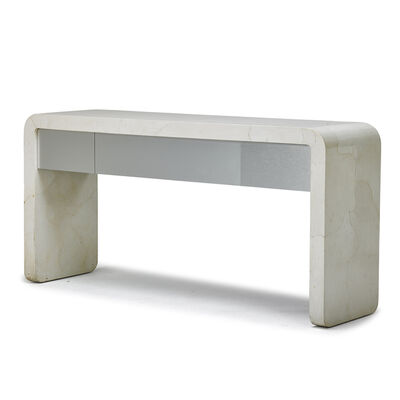Attributed to Karl Springer, 'Console table', 1980s