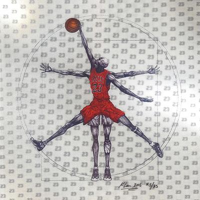 Keng Lau, 'Vitruvian Basketball', 2016