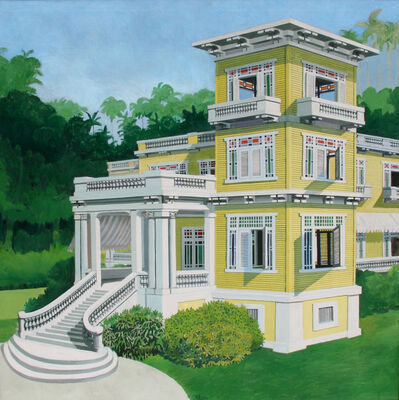 Emilio Sanchez, 'La Mansion en Mantanzas (Cuba)', 1971