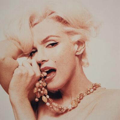 Bert Stern, 'Marilyn Monroe with Beads - The Last Sitting', 1962