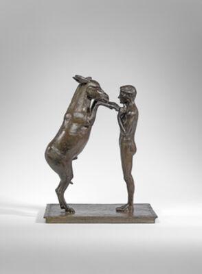 Nicola Lazzari, 'L'artista (Man and Donkey)', 2013