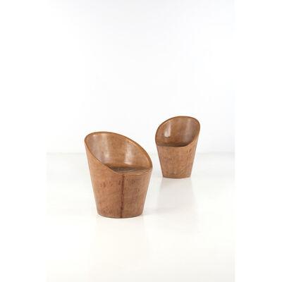 José Zanine Caldas, 'Set of two armchairs', 1970s
