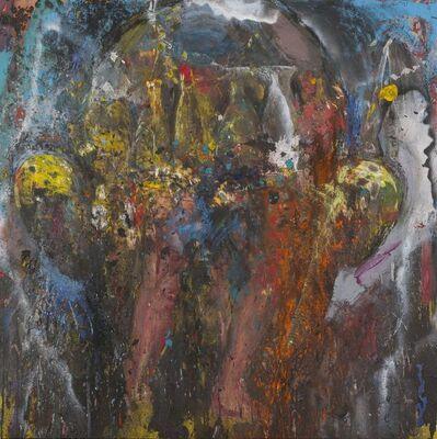 Jim Dine, 'Me at Night on Horseback', 2017