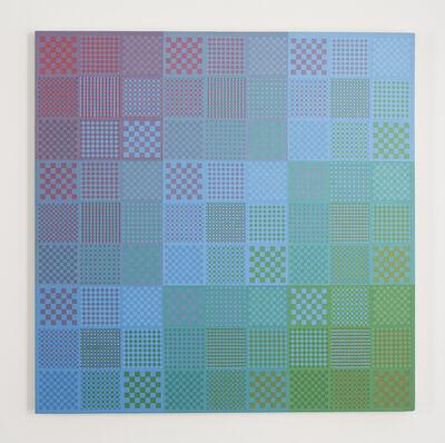 Sanford Wurmfeld, 'II-25 (Blue DK-N)', 1983
