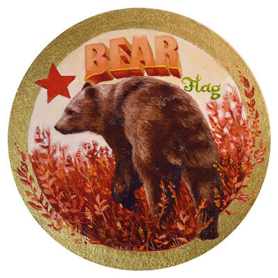 Susanne Apgar, 'Bear Flag Beer', 2018