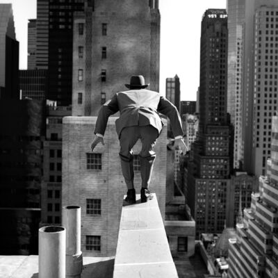 Rodney Smith, 'Alan Leaping From 515 Madison Avenue, New York City', 1999