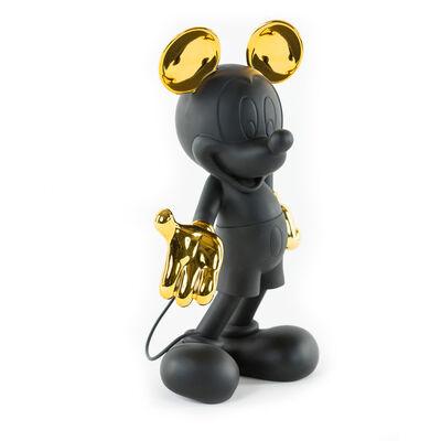 Leblon Delienne, 'Mickey Welcome - Matt black and Chrome gold.', 2017