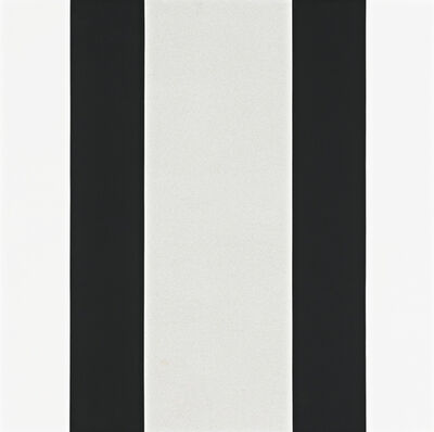 Mary Corse, 'Untitled (Black and White Inner Band)'