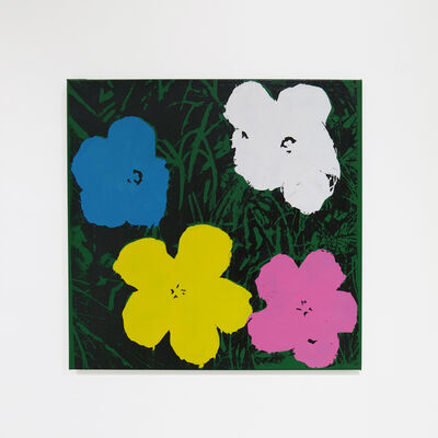 Louis Waldon, 'Flowers (Multi-Color)', ca. 1990