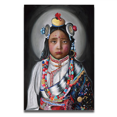 Bar Ben Vakil, 'Tibetan Girl', 2017