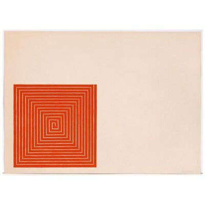 Frank Stella, 'New Madrid', 1971