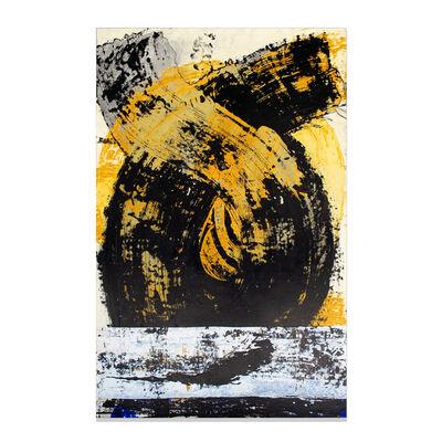 Jorge Enrique, 'Yellow #3 (White Line), Howl series', 2014