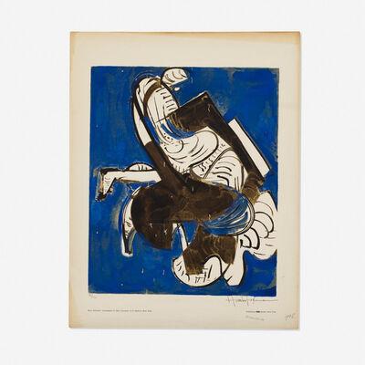 Hans Hofmann, 'Composition in Blue', 1952