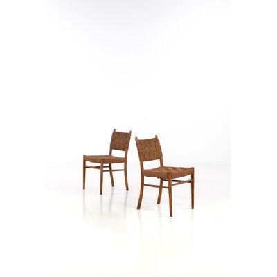 Karl Scröder, 'Model 1461, Pair of Chairs', 1938