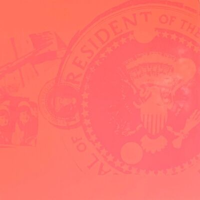 Andy Warhol, 'Flash, Orange Presidential Seal (Rare Trial Proof)', 1968