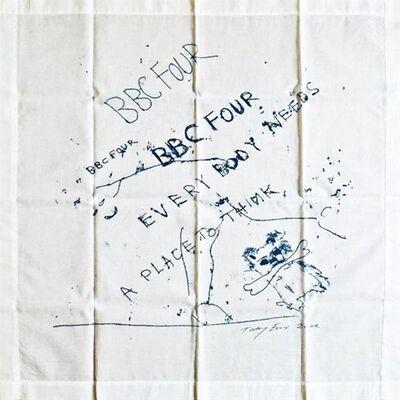 Tracey Emin, 'BBC Four Handkerchief', 2002