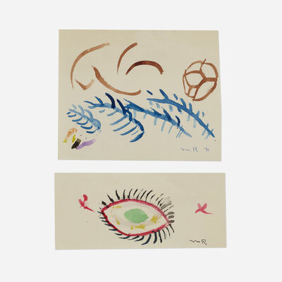 Man Ray, 'Untitled (two works)', 1971