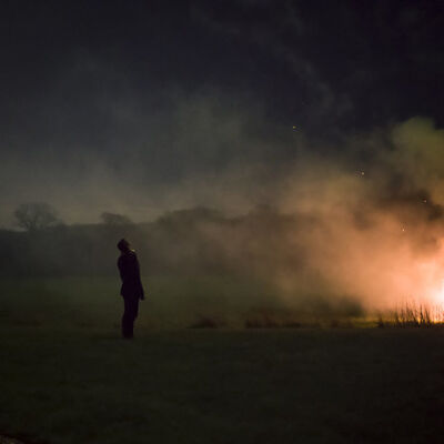 Cig Harvey, 'Fire, Devon, England, 2015', 2015