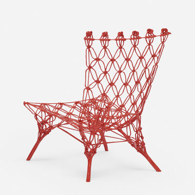 Marcel Wanders, 'Knotted Rouge chair', 1996