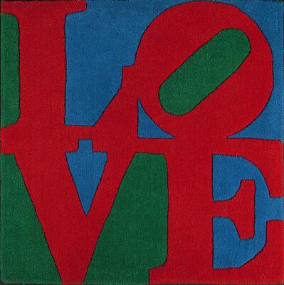Robert Indiana, 'Classic love Rug', 1995