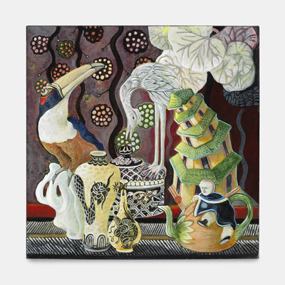 Ellen Lanyon, 'Cloisonné', 2010