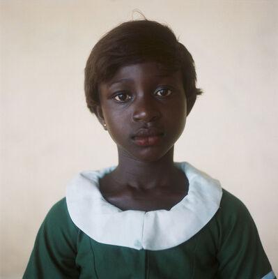 Denis Dailleux, 'L'écolière (2), festival de Fetu Afahye, Ghana ', 2018