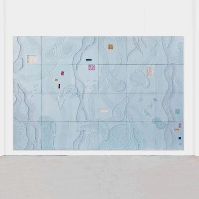 Brecht Wright Gander, 'Brecht Wright Gander, Concrete Occlusion Wall Mural, USA, 2019', 2019