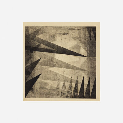 Harry Bertoia, 'Untitled (Monoprint) from the Synchromy series', c. 1940