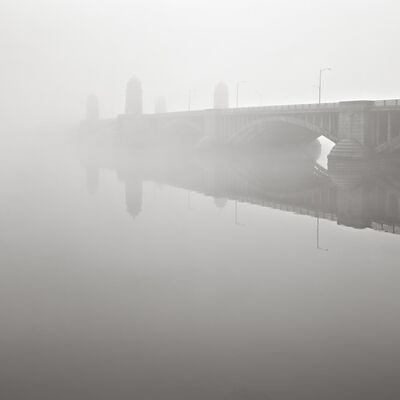David Fokos, 'Longfellow Bridge II, Boston, Massachusetts', 2013