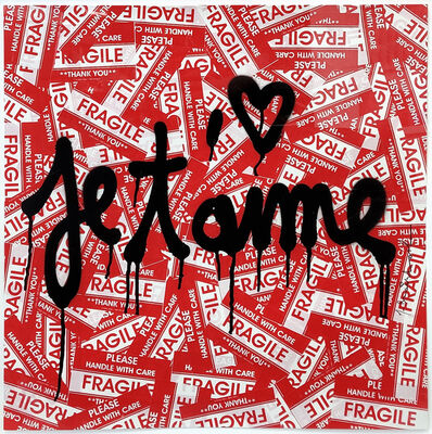 Mr. Brainwash, 'JE T'AIME', 2013