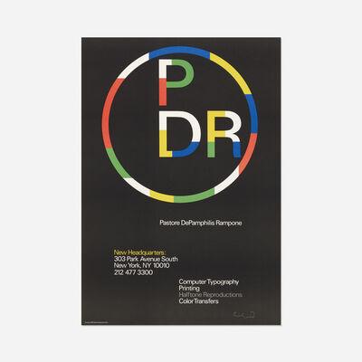 Paul Rand, 'Pastore DePamphilis Rampone poster variant', c. 1987