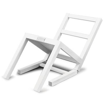Timm Ulrichs, 'Der erste sich setzende Stuhl (nach langem Stehen sich zur Ruhe setzend)', 1970/2019