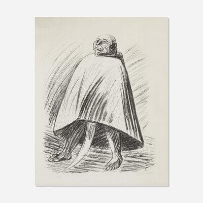 Ernst Barlach, 'Der Henker (from Die Ausgestossenen portfolio)', 1922