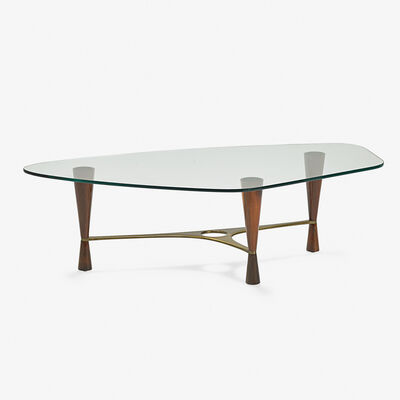 Edward Wormley, 'Rare coffee table (no. 5309), Berne, IN', 1950s