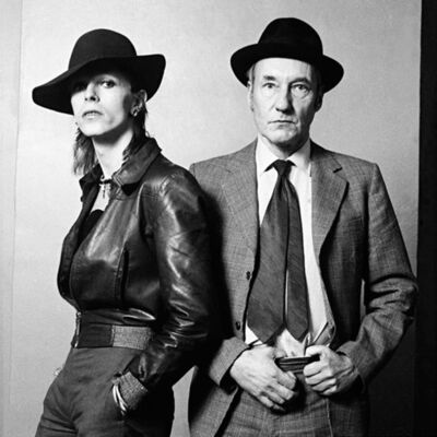 Terry O'Neill, 'David Bowie and William Burroughs', 1965