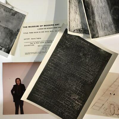 Antoni Tàpies, 'Photographic and documentary set', 1950-1979