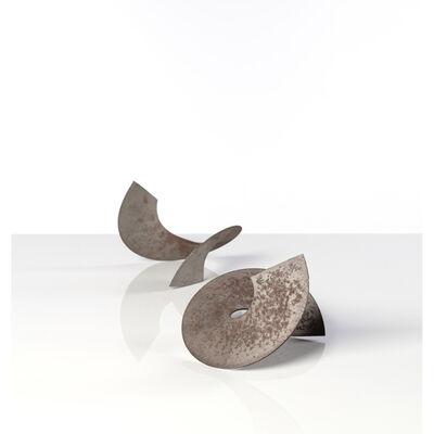 Takis, 'Grande hélice et petite hélice', 2000