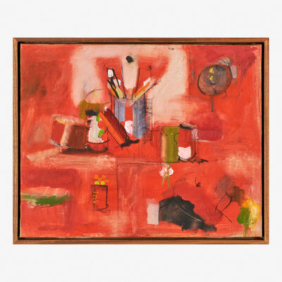 Larry Rivers, 'Red Still Life'
