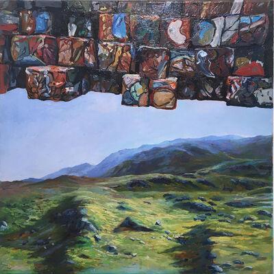 Thomas John Carlson, 'Crushed Oil Cans', 2015