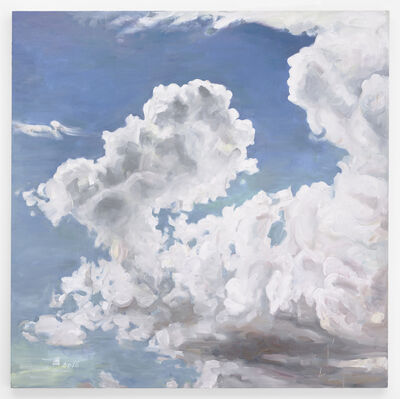 Hung Liu, 'Clouds (After Lange)', 2016